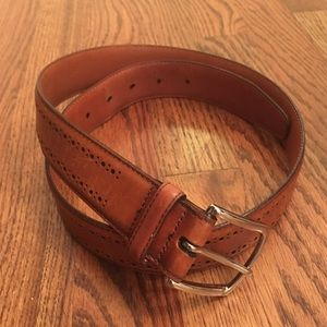 Men's Allen Edmonds Leather Belt